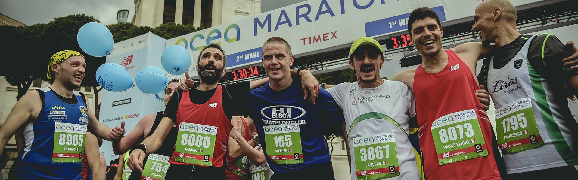 C'è anche Daniele Caimmi tra i 145 pacer internazionali dell'Acea Run Rome The Marathon