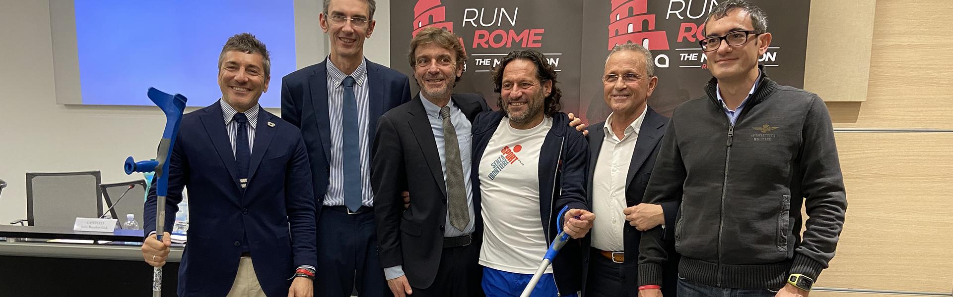 Staffetta Acea Run4Rome Solidale: Onlus e distanze