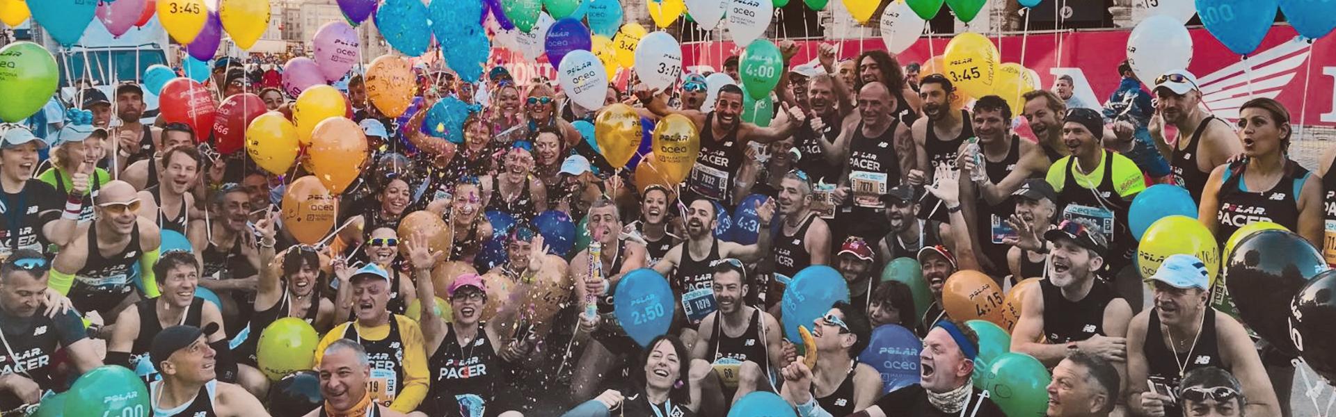 Tutti i nomi dei Pacer dell'Acea Run Rome the Marathon