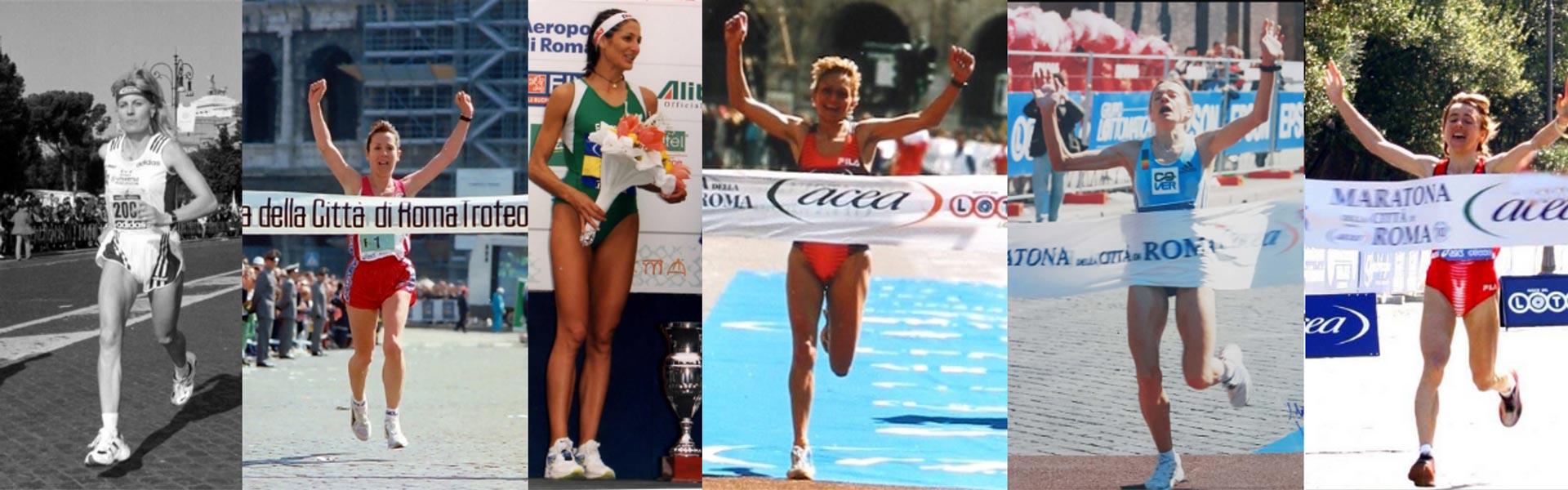 """Oggi 8 marzo celebriamo le 6 donne italiane vincitrici della maratona a Roma: """"La maratona è per le donne che non si arrendono"""""""