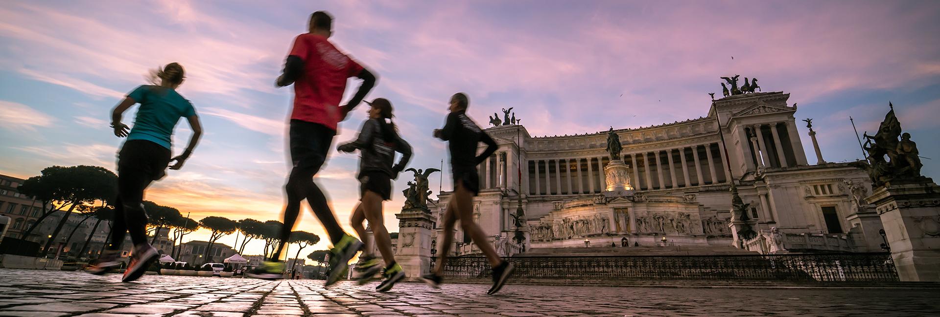 Acea Run4Rome…la maratona si fa in 4 per solidarietà