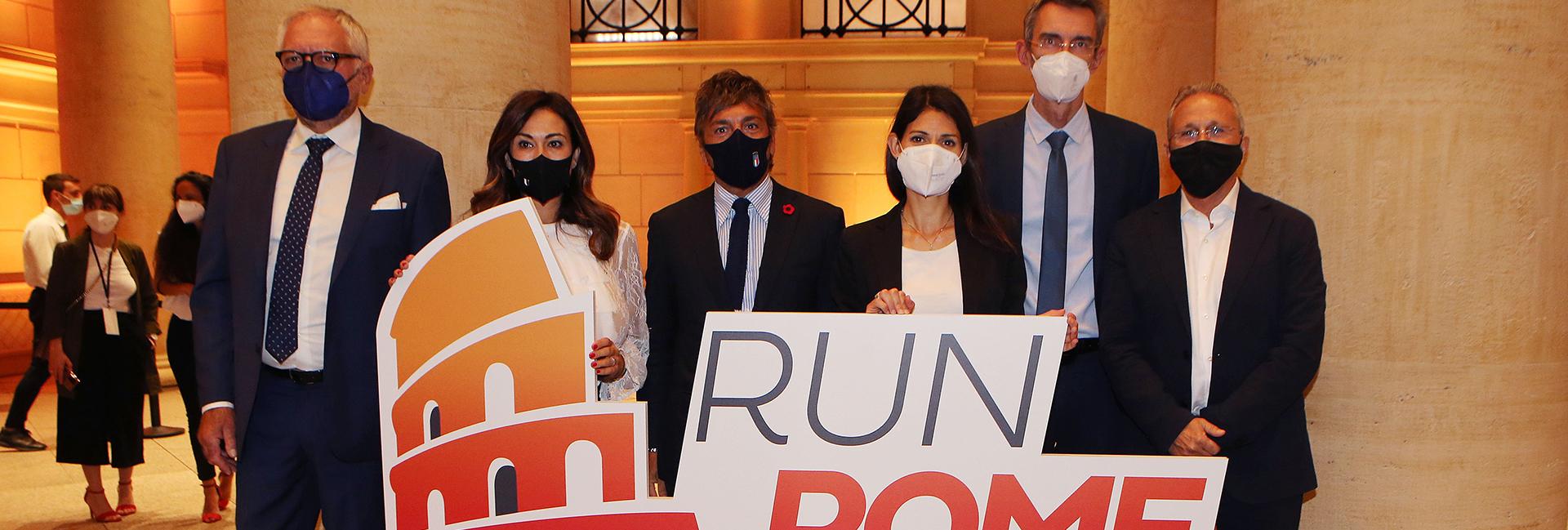 Roma torna a correre, presentata l'Acea Run Rome The Marathon